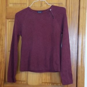 American Eagle Shoulder Button Sweater